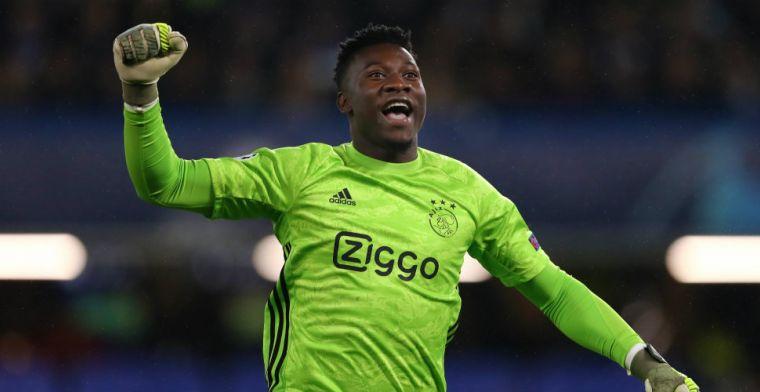 The Mirror: volgende Engelse topclub mengt zich in strijd om Ajax-keeper Onana