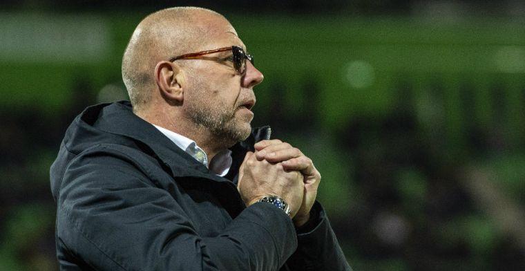 Grim haalt uit naar arbitrage: 'De eerste overtreding was daar van Feyenoord'