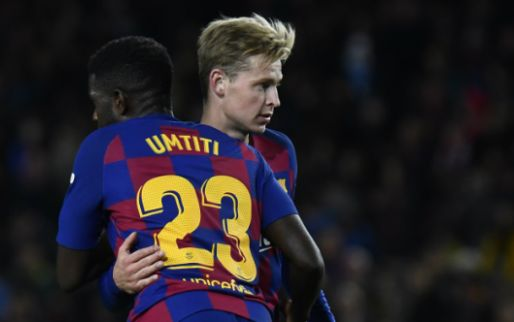 Spaanse media: Valverde 'redde' Frenkie de Jong van vliegveld Barcelona