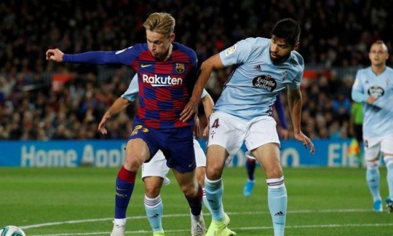 Afbeelding: Spanje in de ban van Frenkie de Jong: 'Hij is belangrijker dan Busquets en Arthur'