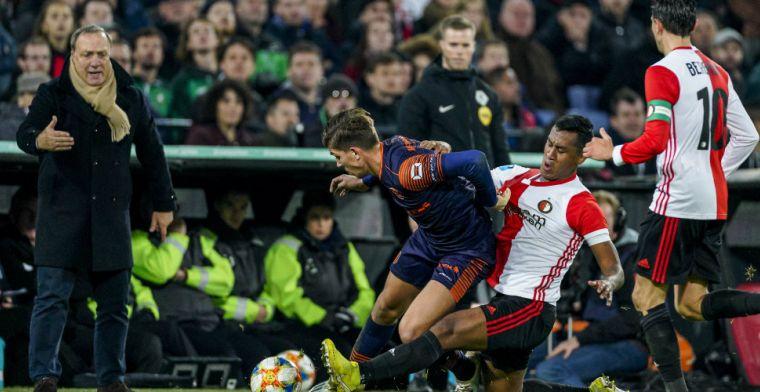 Advocaat brengt wat teweeg bij Feyenoord: 'Zijn allemaal beetje bang voor hem'