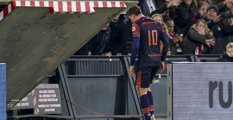 Update: KNVB seponeert rode kaart Spierings na gang naar Zeist
