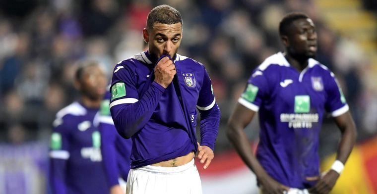 'Scout van Glasgow Rangers voedt geruchten over vertrek van Roofe bij Anderlecht'