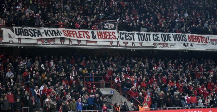 Standardfans halen uit naar KV Mechelen en KBVB: 'Maffia, jullie verdienen gejoel'