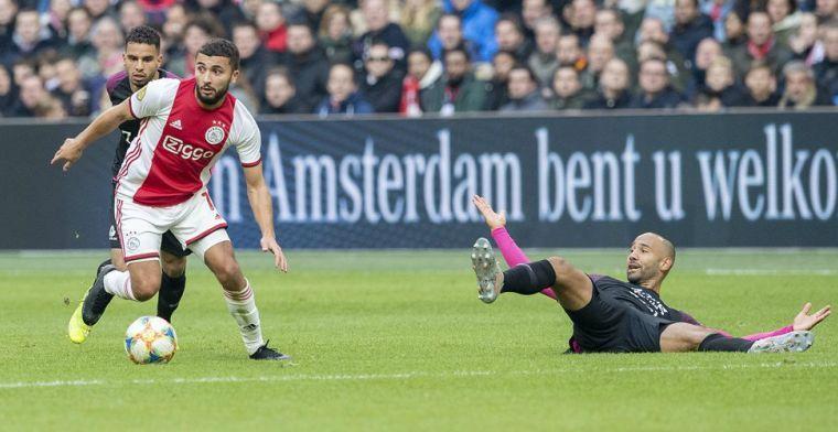 Steun van Ziyech, Promes en Mazraoui bij Ajax: 'We zijn eigenlijk altijd samen'