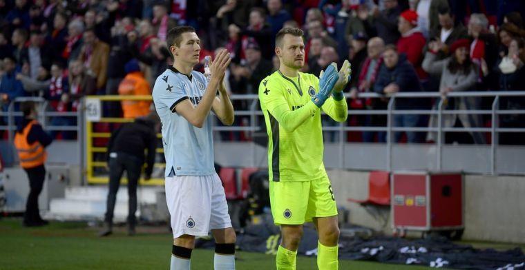 Club Brugge krijgt geen strafschop na vermeend hands: Daar wordt voor gefloten