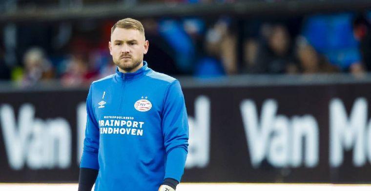'Zoet verbijsterd in Tilburg: PSV'er niet tweede, maar derde doelman'