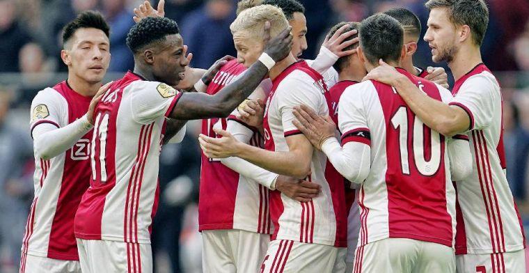 'Ajax is zonder De Ligt, Schöne en De Jong alleen maar beter geworden'