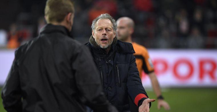 Preud'homme spaart ref niet na verlies Standard: Moet je dat toelaten?