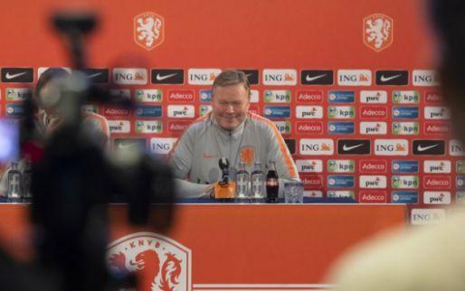 Afbeelding: Koeman discussieert met Driessen over Dest: 'Jij richt je pijlen op Van de Looi'