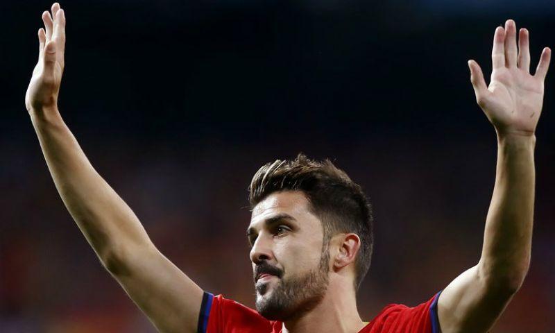 Afbeelding: Villa (37) denkt alvast aan leven na voetbalpensioen en stapt in nieuwe club