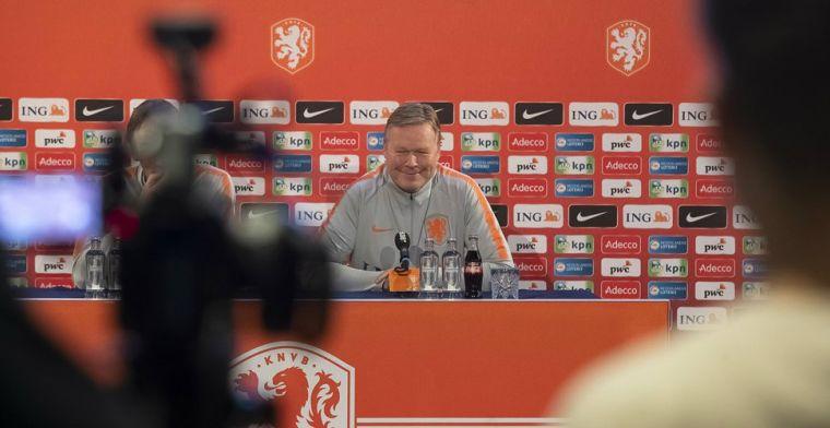 Koeman discussieert met Driessen over Dest: 'Jij richt je pijlen op Van de Looi'