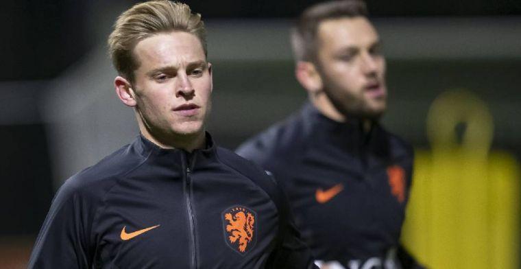 Frenkie de Jong reageert op bericht in krant: 'Ze kunnen ook overdrijven'