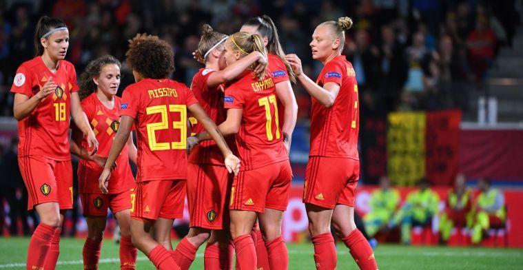 Red Flames hebben geen genade voor Litouwen, weergaloze De Caigny is beul
