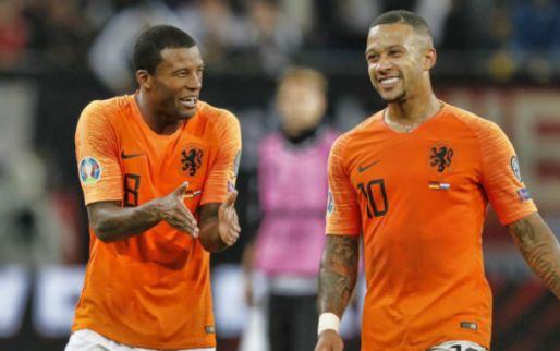 'Twee Oranje-vraagtekens: Wijnaldum en Memphis moeten weer verstek laten gaan'