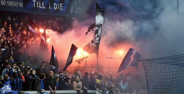 Toeters, bellen en een stuk kaart: Club Brugge mag verjaardagskaarsjes uitblazen