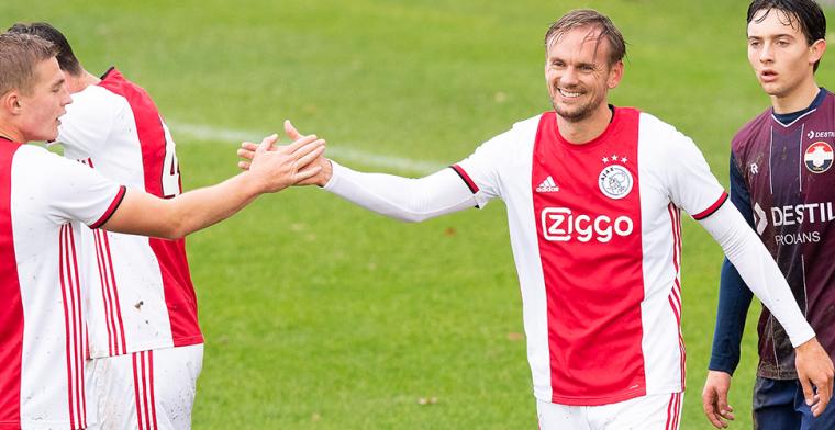 Ontketende Siem de Jong maakt hattrick in oefenwedstrijd tussen Ajax en Willem II