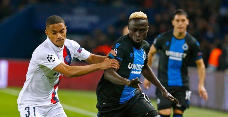 'Dortmund en 3 Engelse clubs zetten Diatta van Club Brugge op verlanglijst'