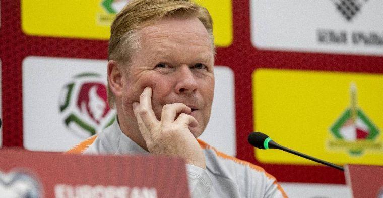 Spaanse media voelen 'favoriet' Koeman aan de tand: 'Barça mogelijkheid na EK'