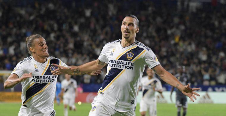 OFFICIEEL: Ibrahimovic neemt op zijn manier afscheid van LA Galaxy