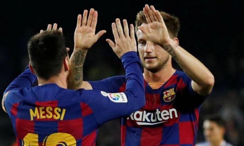 Afbeelding: 'Atlético wil veertig miljoen euro betalen aan Barça voor 'verdrietige' Rakitic'
