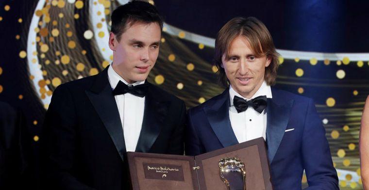 'Golden Foot' Modric niet bezig met aflopend contract: 'Mijn heden en toekomst'