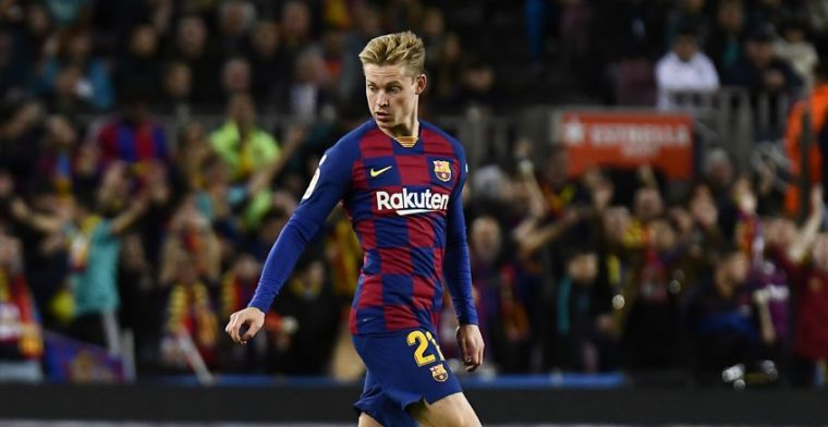 Barça zeer tevreden over De Jong: 'Alsof hij zijn hele leven al hier speelt'