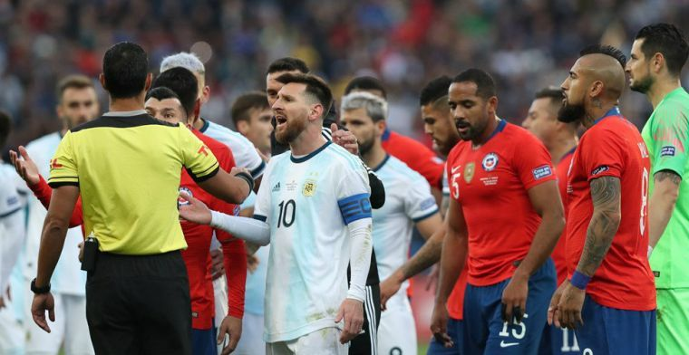 Chileense internationals willen niet voetballen vanwege protesten en onrust
