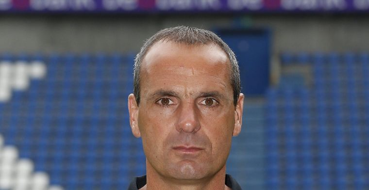 Olivieri (even) coach van Racing Genk: Dit zijn geen aangename momenten