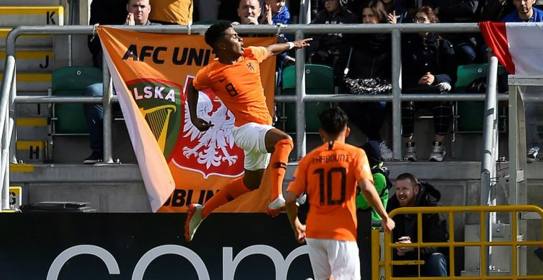 Oranje-talent Maatsen moest Feyenoord verlaten: 'Eerlijk: ik was in tranen'