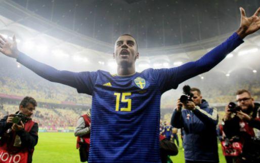 Afbeelding: Nieuw racismeschandaal: ex-Willem II'er Isak doelwit tijdens Roemenië-Zweden