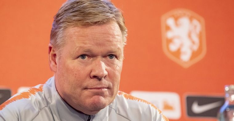 Koeman heeft twee Oranje-vraagtekens: 'Ik beslis zaterdagochtend of ze erbij zijn'