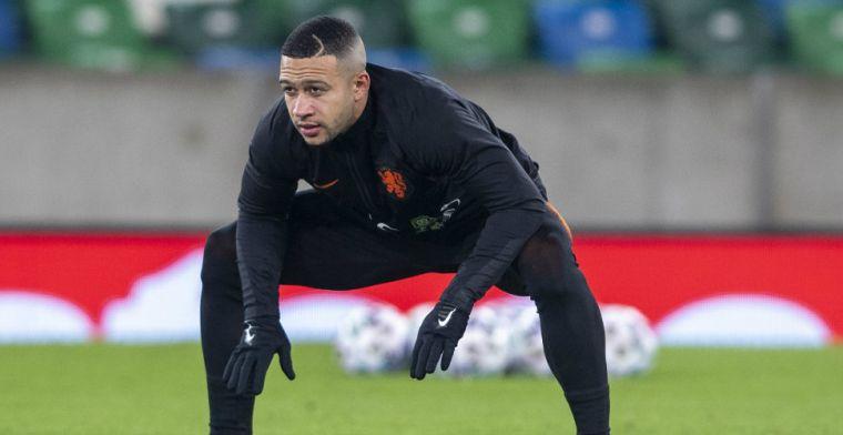 Memphis 'sprint voluit' tijdens Oranje-training: 'Dan denk je: hij kan spelen'