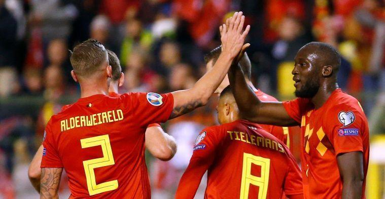Martinez geeft uitsluitsel over inzetbaarheid Lukaku én Vermaelen tegen Rusland