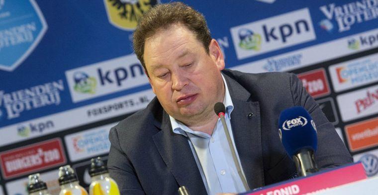 Vitesse-captain Linssen schaart zich achter Slutsky: 'Absoluut niet op dood spoor'