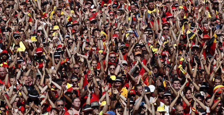 Tegenslag: tiental fans van Rode Duivels zijn niet welkom in Rusland