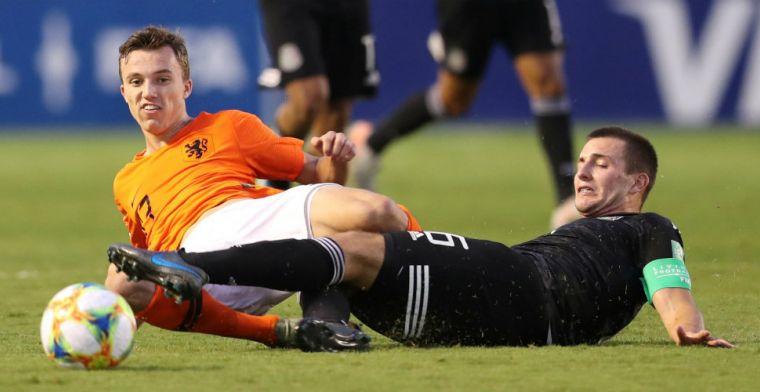 Oranje O17-talenten ontroostbaar: 'Toen keeper hem pakte stortte mijn wereld in'