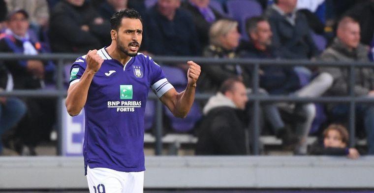 Chadli duidt bij Anderlecht het verschil aan tussen Kompany en Vercauteren