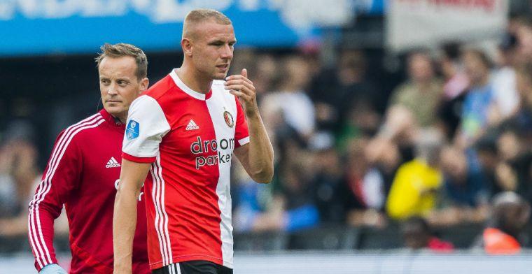 Van Beek positief: 'Maak grote stappen, hoop binnenkort weer terug te komen'