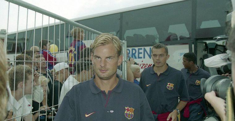 De Boer baalt van Barça-periode: 'Frank zegt nu ook: je gaat voor het voetbal'