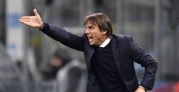 'Conte ontvangt bedreigingen en kogelbrief: politiebewaking voor Inter-trainer'
