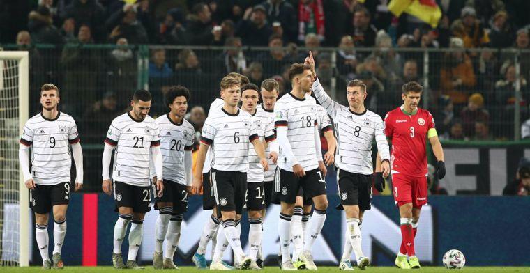 Duitsland profiteert maximaal van remise Oranje, ook Kroatië en Oostenrijk naar EK