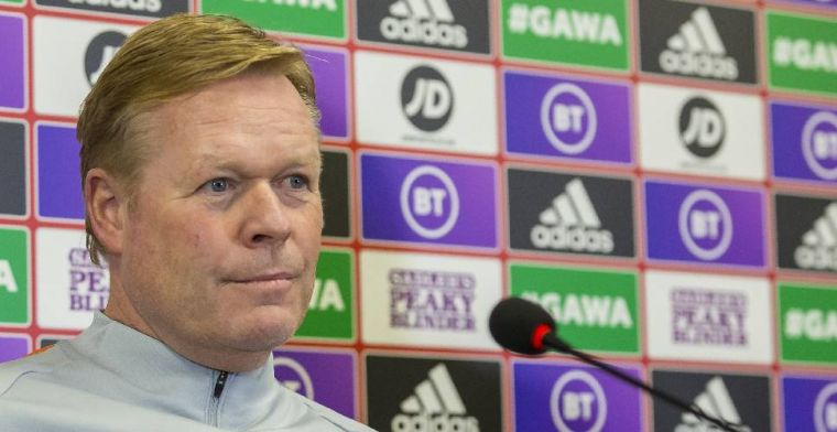 Koeman mocht vraag niet beantwoorden van Oranje-perschef: Belachelijke reactie