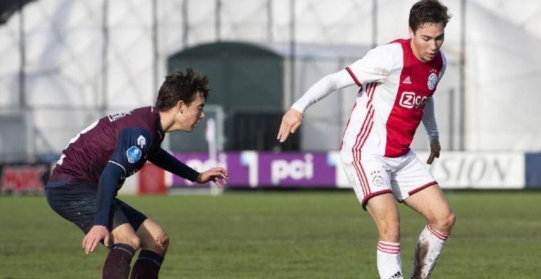 'Er zijn momenten waarop je denkt: zonde dat ik geblesseerd ben geraakt bij Ajax'
