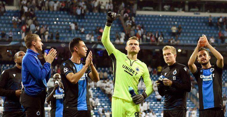 Mignolet over titel bij Club Brugge: Enige ploeg die daar zo open voor uitkomt