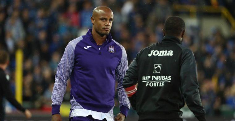 Kompany wijst naar Ajax: 'In de toekomst duelleren met grote clubs om ons heen'