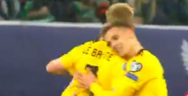 Hazard-broertjes doen het voor België: Eden legt af, Thorgan schiet snoeihard raak