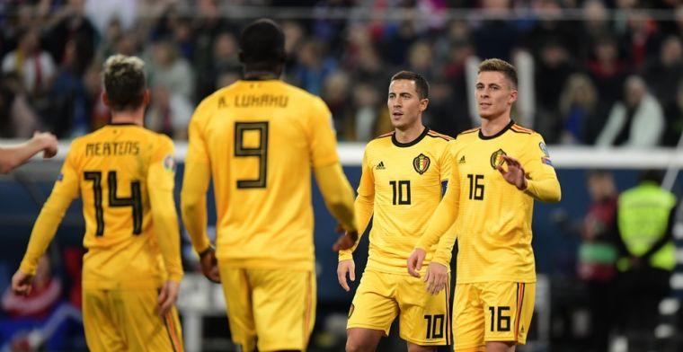 VP Rapport: Hazard-broertjes boven, één negatieve uitschieter bij Rode Duivels