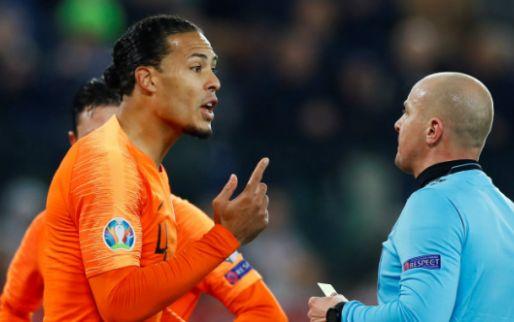 Van Dijk verlaat trainingskamp Oranje vanwege 'persoonlijke omstandigheden'