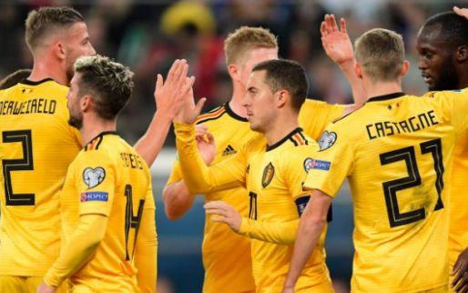 EK2020: 'België kent drie mogelijke tegenstanders al voor het EK'